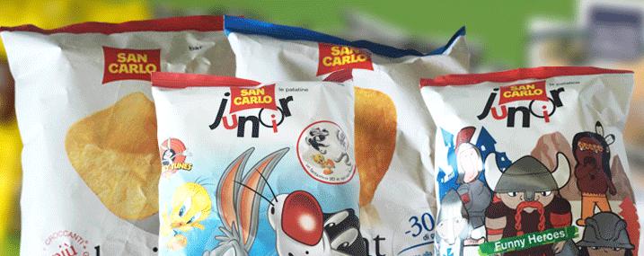Il gusto delle patatine San Carlo!
