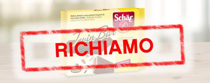 Twin Bar, Dr. Schär ritira prodotto per tracce di salmonella